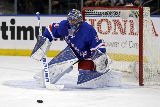 Henrik Lundqvist Pads Make Me Hot And Bothered The Morning Skate