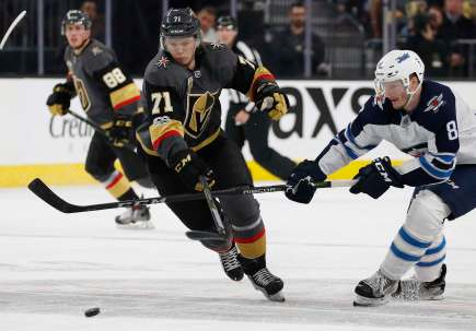 Jets Golden Knights Hockey