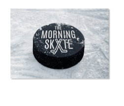 The Morning Skate Sticker