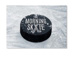 The Morning Skate Sticker